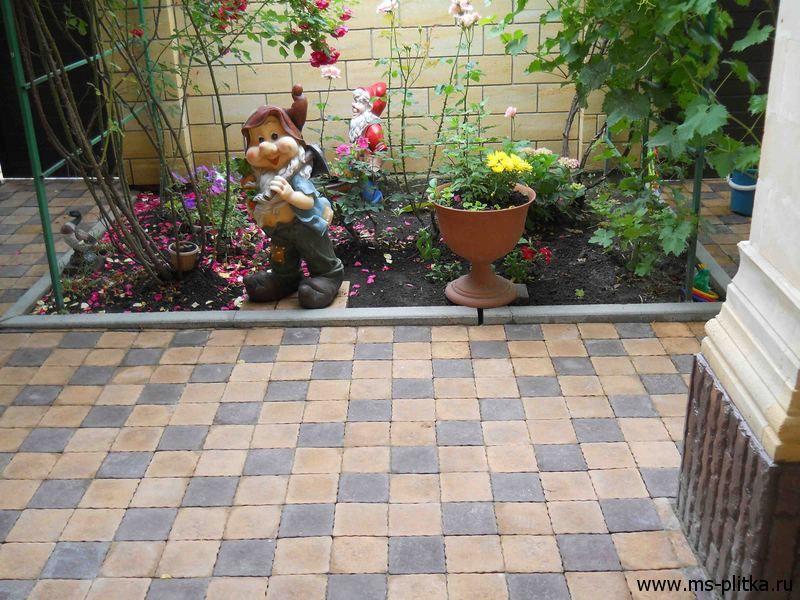 Фото отделка двора